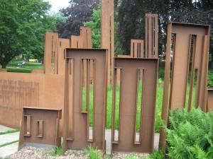 First World War Memorial, Gheluvelt Park, Worcester