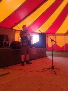 Poet Shaun Moore