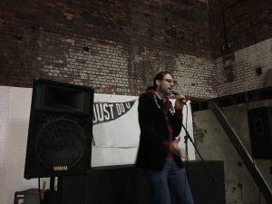 DIY Poets Storm The Abbeydale Beer Festival Sheffield
